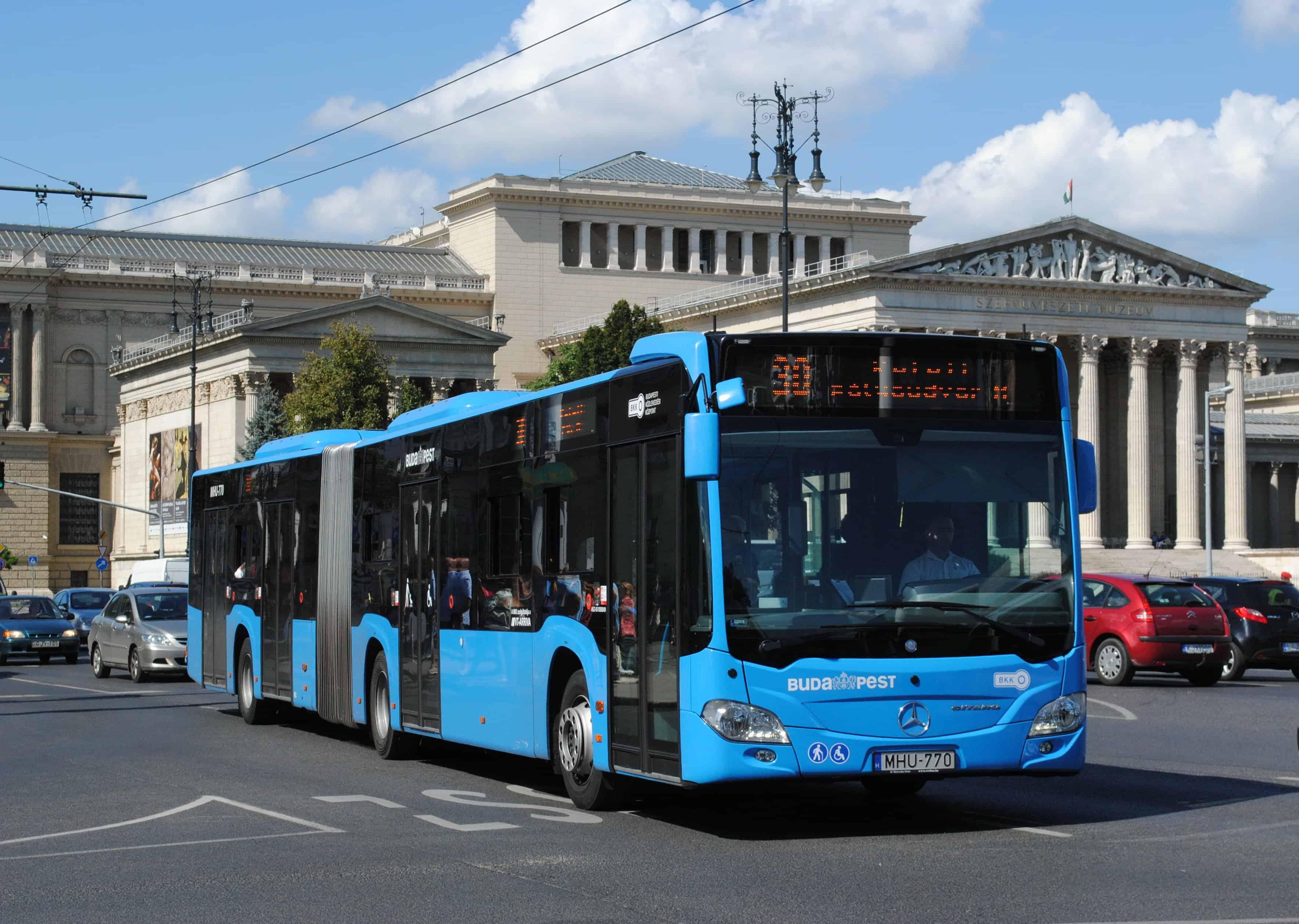 شركة المواصلات المجرية BKV