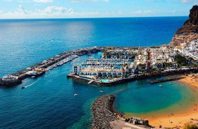 اين موقع جزر الكناري في اسبانيا؟