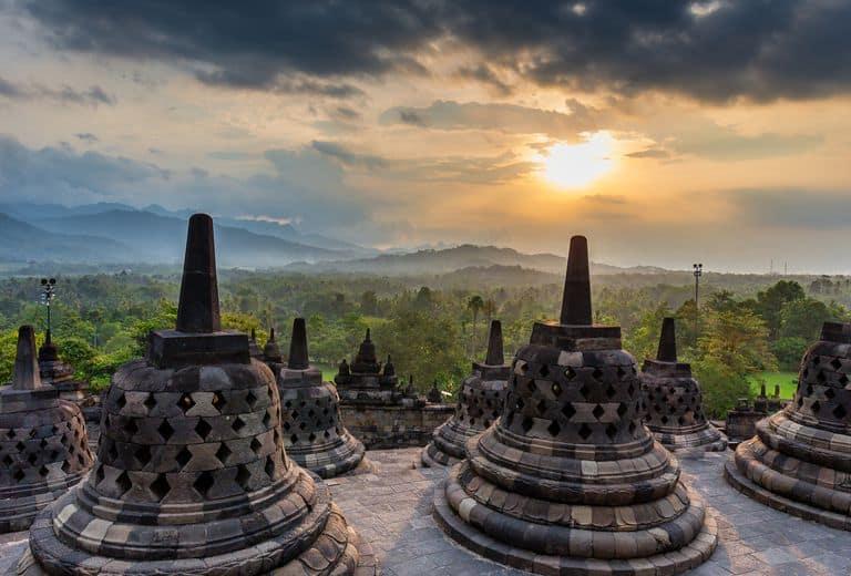زيارة معبد بوروبودور – جزيرة بالي