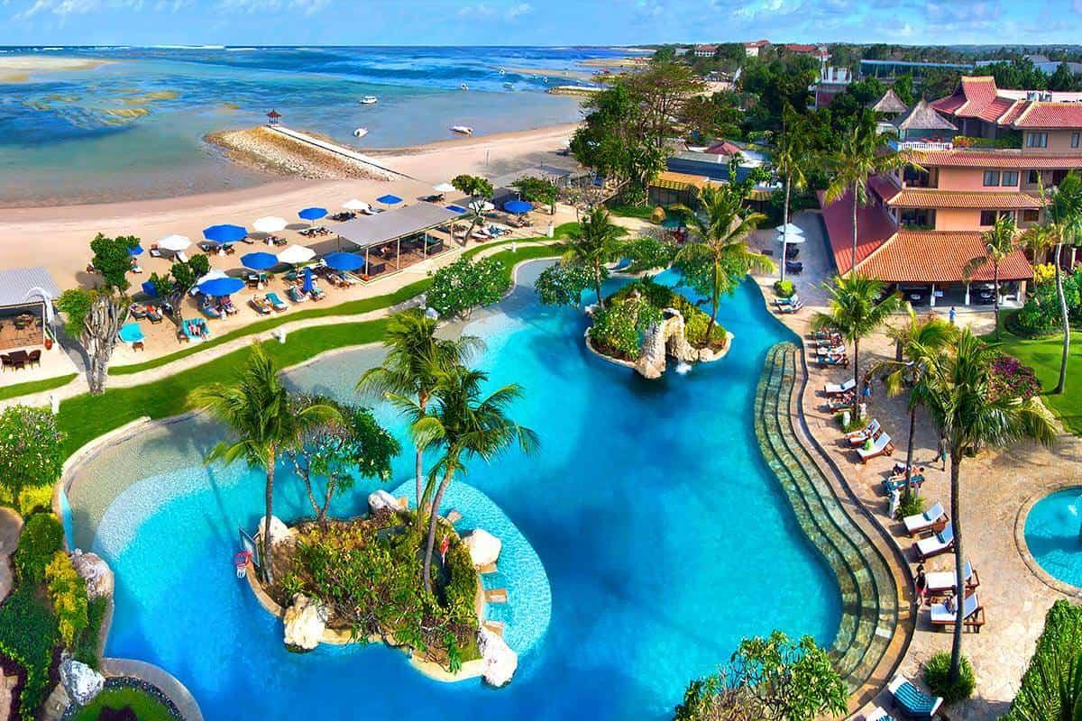 شاطئ نوسا دوا في جزيرة بالي
