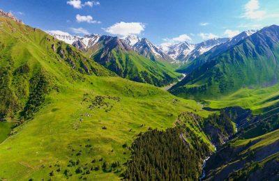 أين موقع قرغيزستان وكيف السفر إليها؟