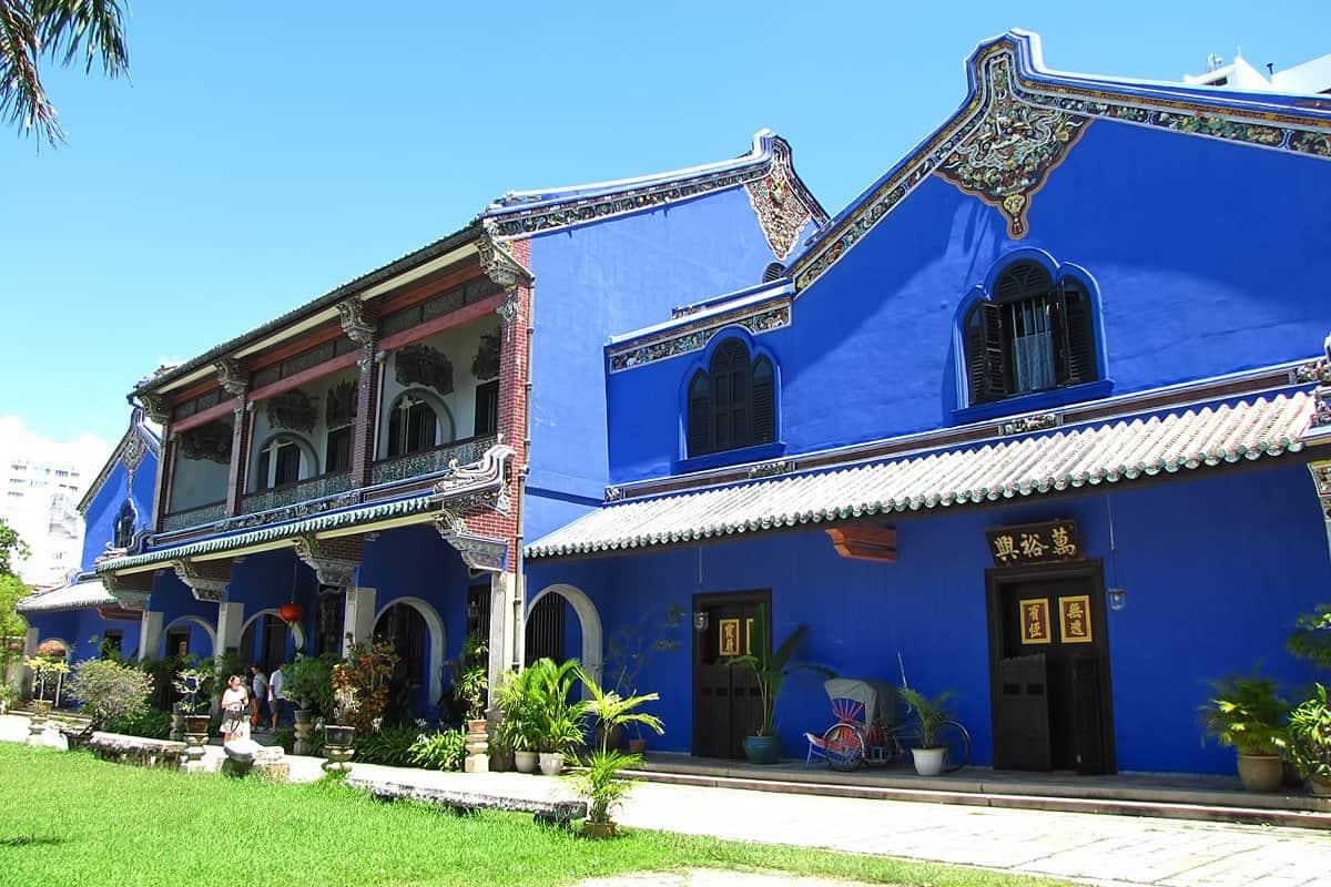 زيارة تشيونغ فات تزي – القصر الأزرق – بينانج
