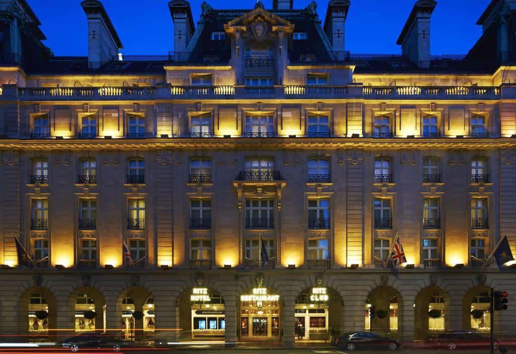 تقرير عن فندق الريتز لندن بالصور