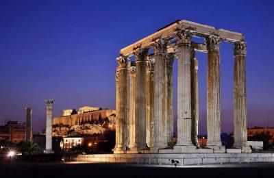 أفضل خمسة أنشطة في معبد زيوس الأولمبي في أثينا اليونان