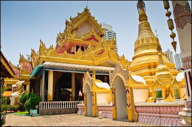 زيارة معبد Dhammikarama – بينانج