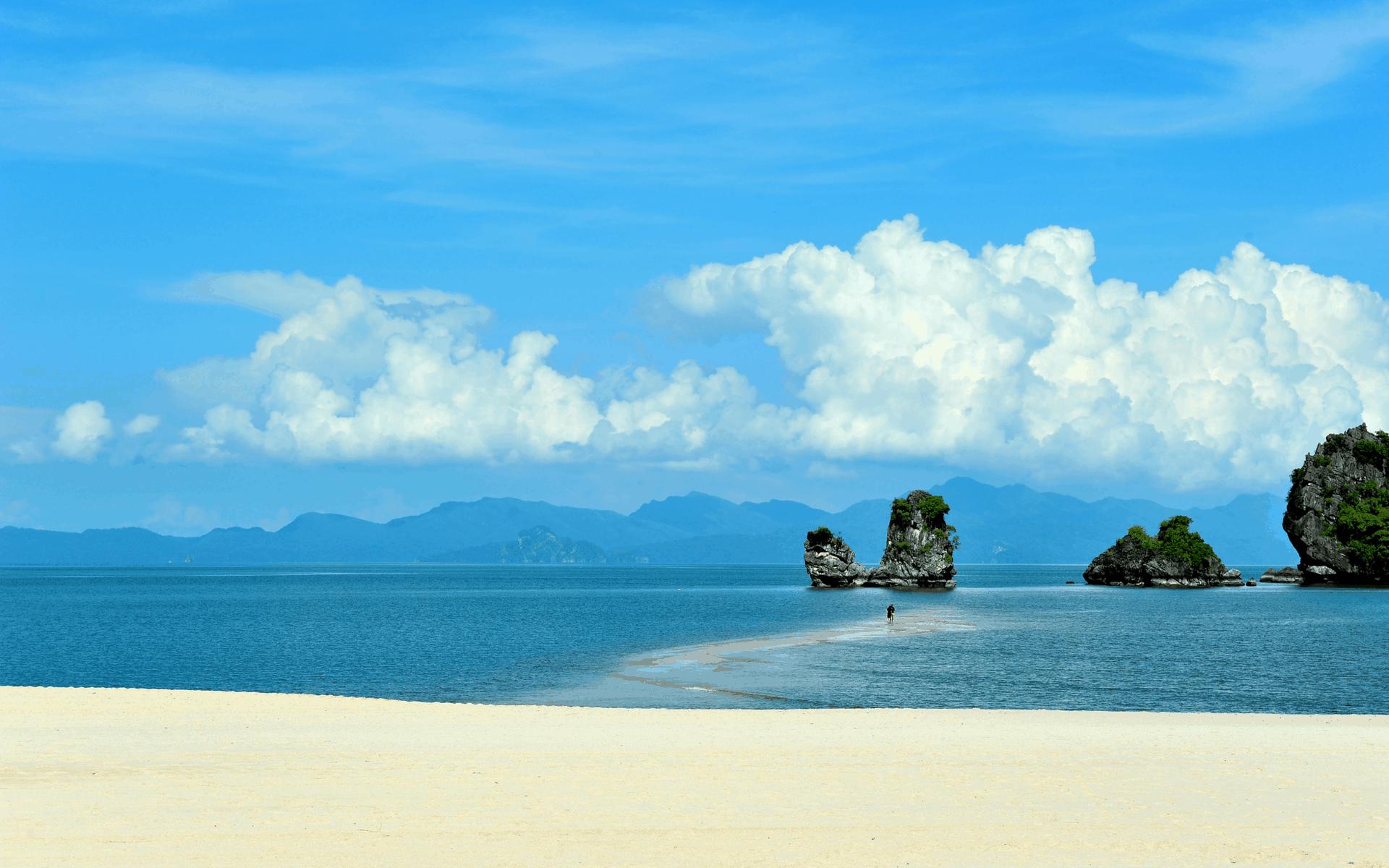 زيارة شاطئ تانجونج رهو – لنكاوي