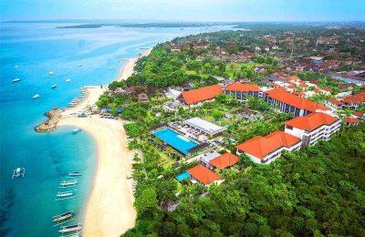 اين تقع اندونيسيا والمسافات بين اهم مدن السياحة فيها