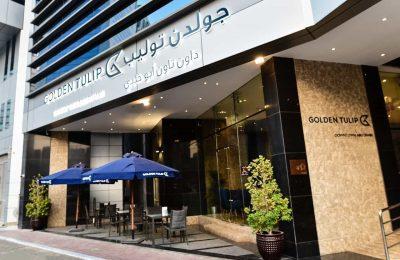 تقرير بالصور عن سلسلة فندق جولدن توليب ابو ظبي