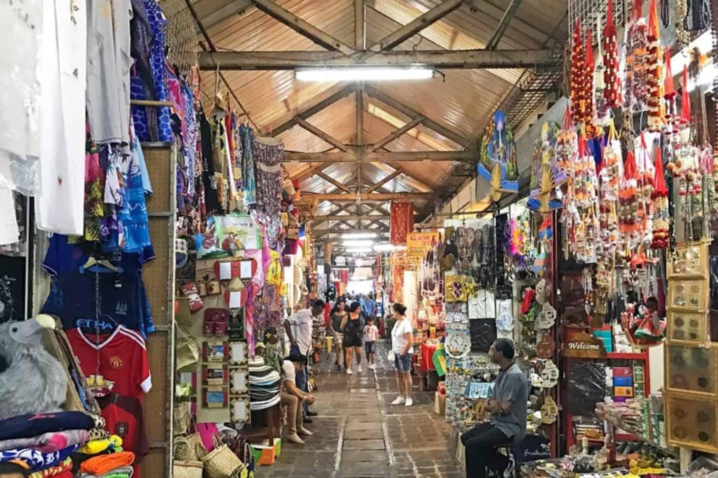 سوق بورت لويس المركزي في موريشيوس