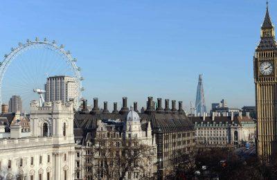 اين موقع انجلترا والمسافات بين اهم المدن السياحية فيها