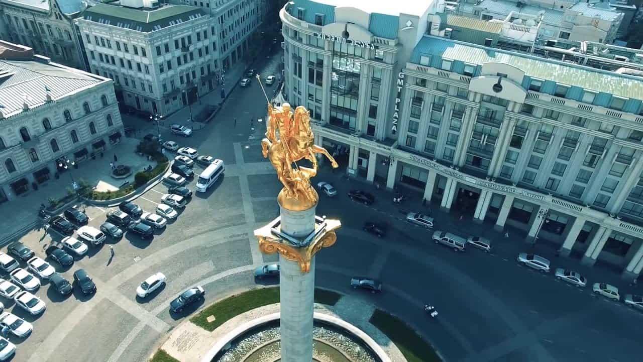 ميدان الحرية في تبليسي