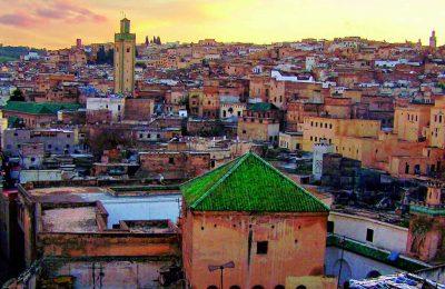 مراكش اين تقع والمسافة بينها وبين واهم مدن المغرب