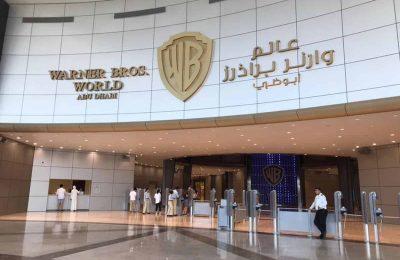 تقرير مصور عن ملاهي (وارنر براذرز) المغلقة أبو ظبي