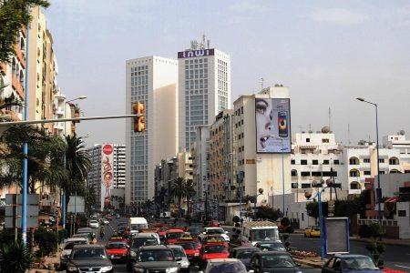 موقع الدار البيضاء والمسافات بينها واهم مدن المغرب