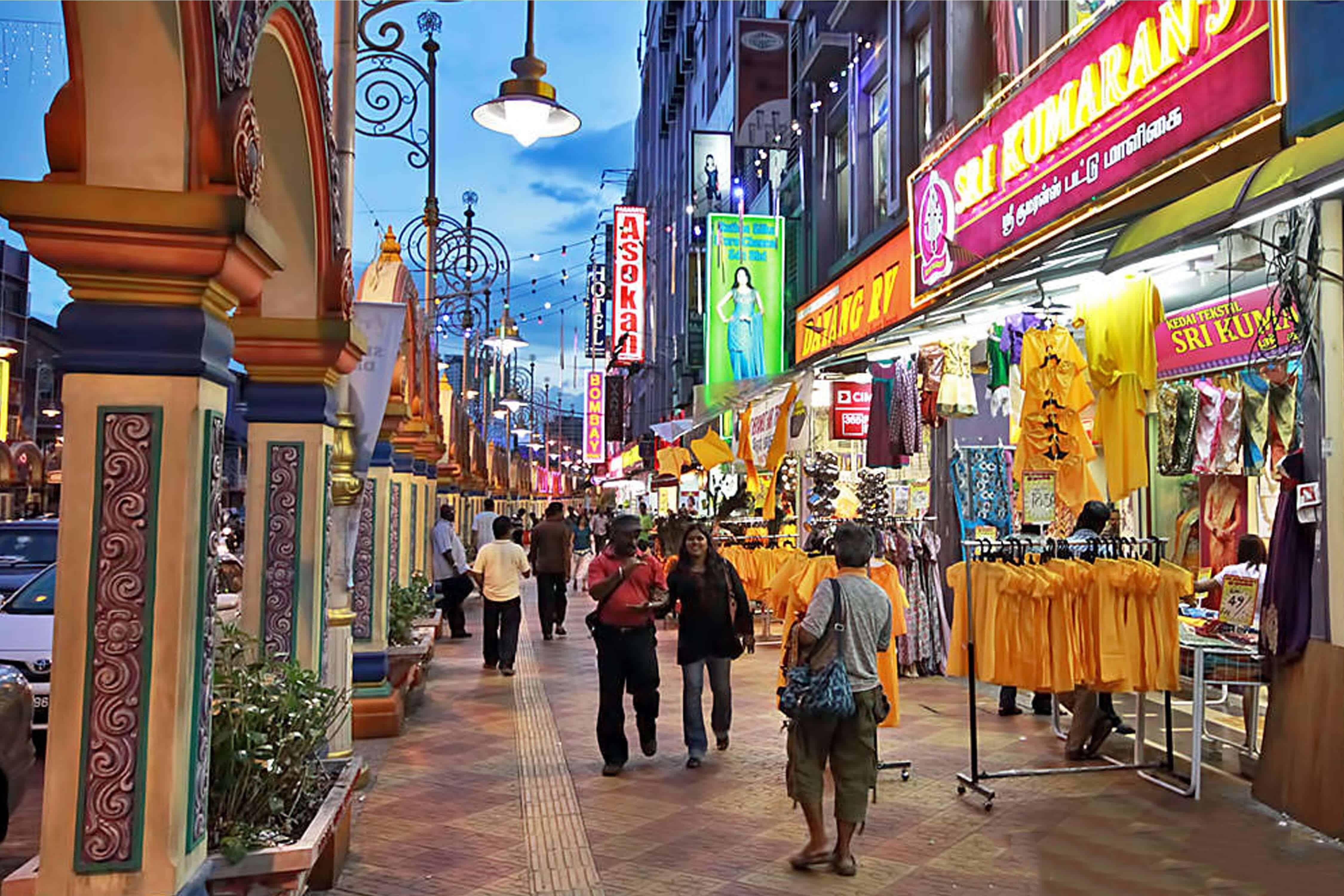 افضل 4 من اماكن التسوق في نيودلهي الهند