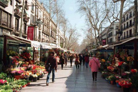 افضل 5 من اشهر شوارع برشلونة اسبانيا