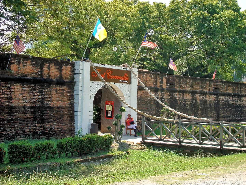 زيارة قلعة كورنواليس – بينانج