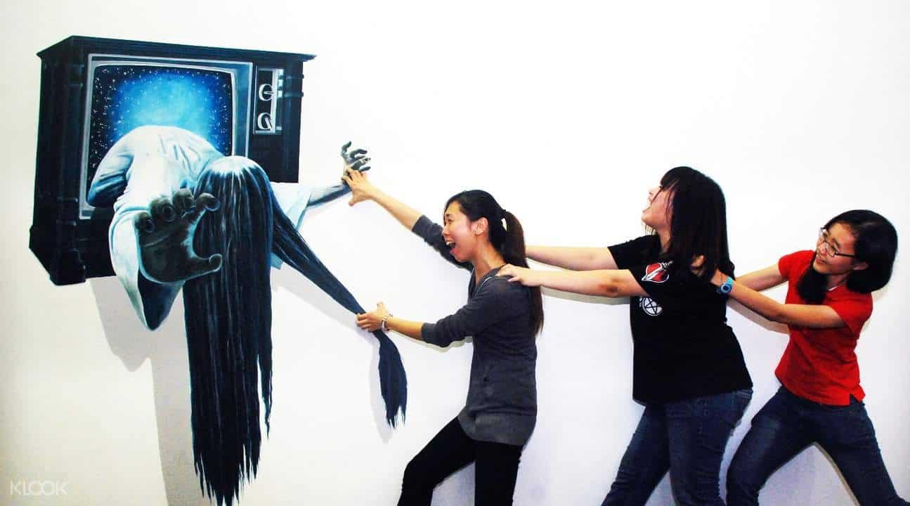 زيارة متحف الخدع ثلاثي الابعاد – بينانج
