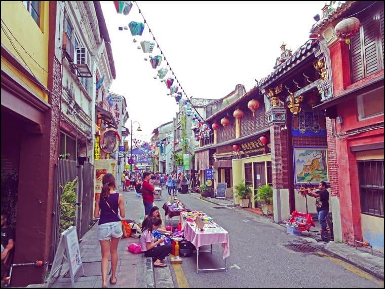 زيارة شارع Armenian – بينانج