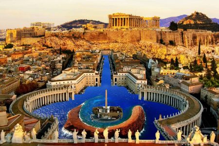 اثينا اين موقعها وما المدن القريبة من اثينا
