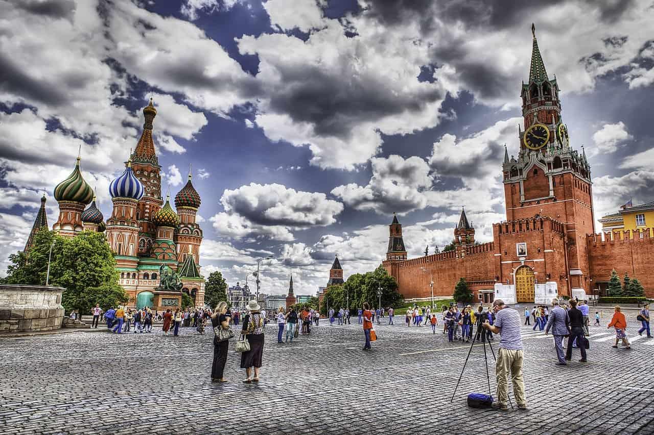 الميدان الأحمر السياحة في موسكو