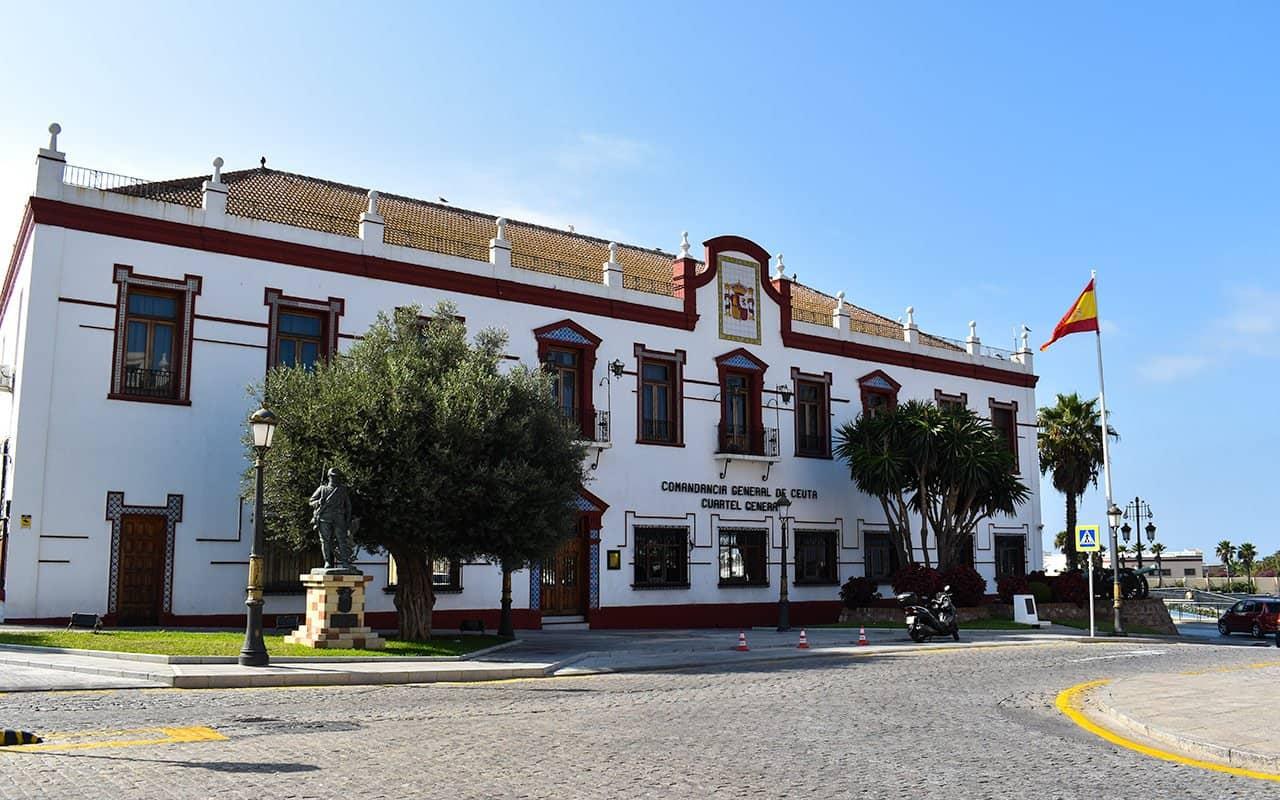 بناء الكوماندانسيا العرائش المغرب