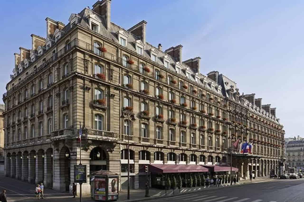 تقرير مفصل عن سلسلة فندق انتركونتيننتال باريس