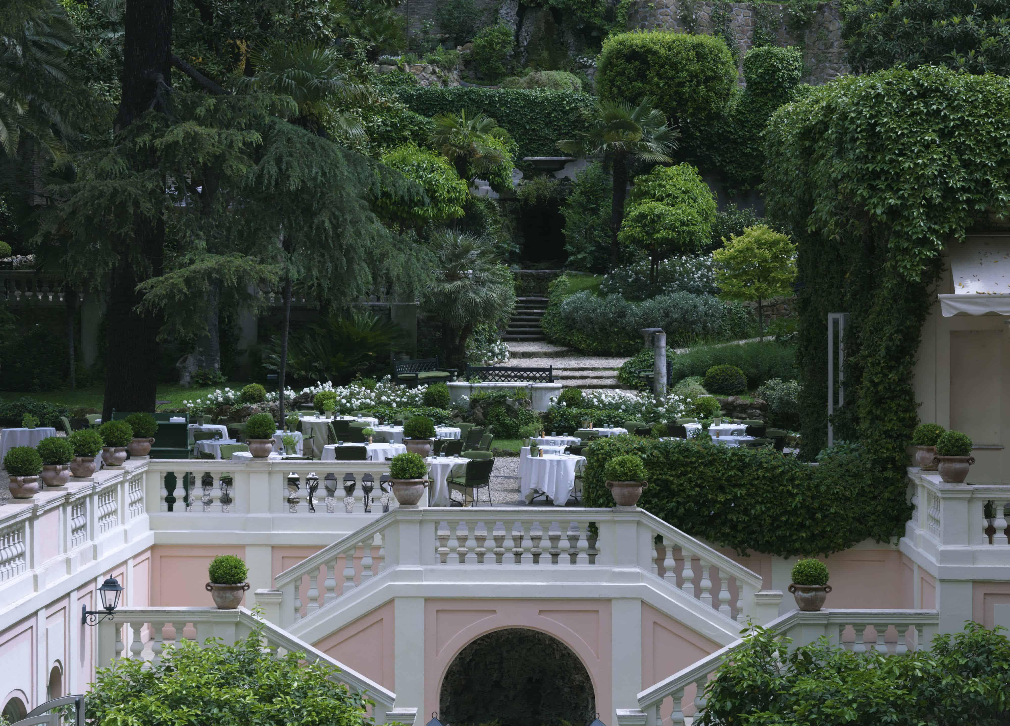 حديقة فندق دي روسي روما