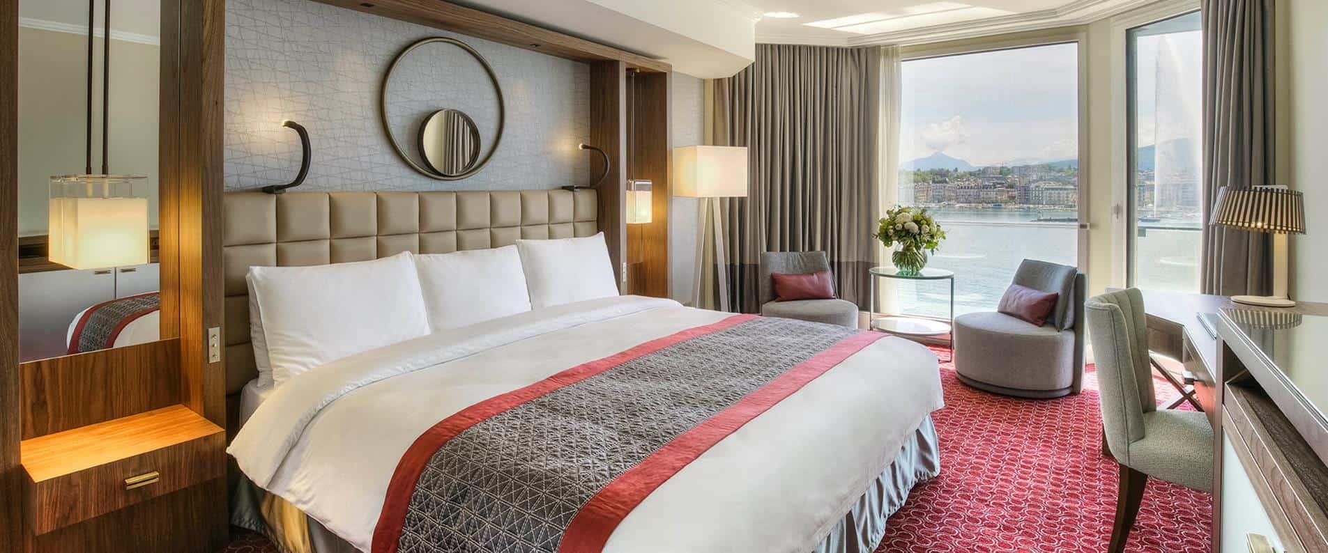 خيارات الإقامة في فندق جراند كمبنسكي جنيف