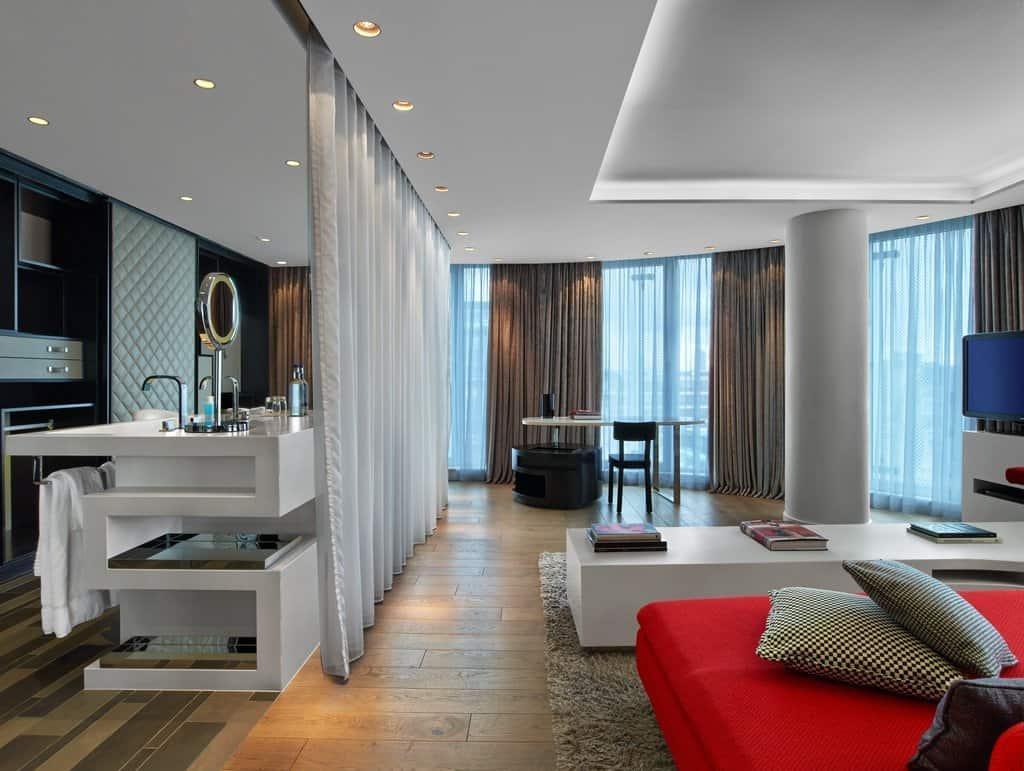 خيارات الإقامة في فندق دبليو لندن ليستر سكوير