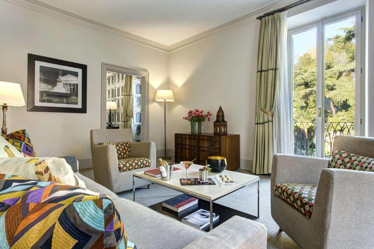 خيارات الإقامة في فندق دي روسي روما