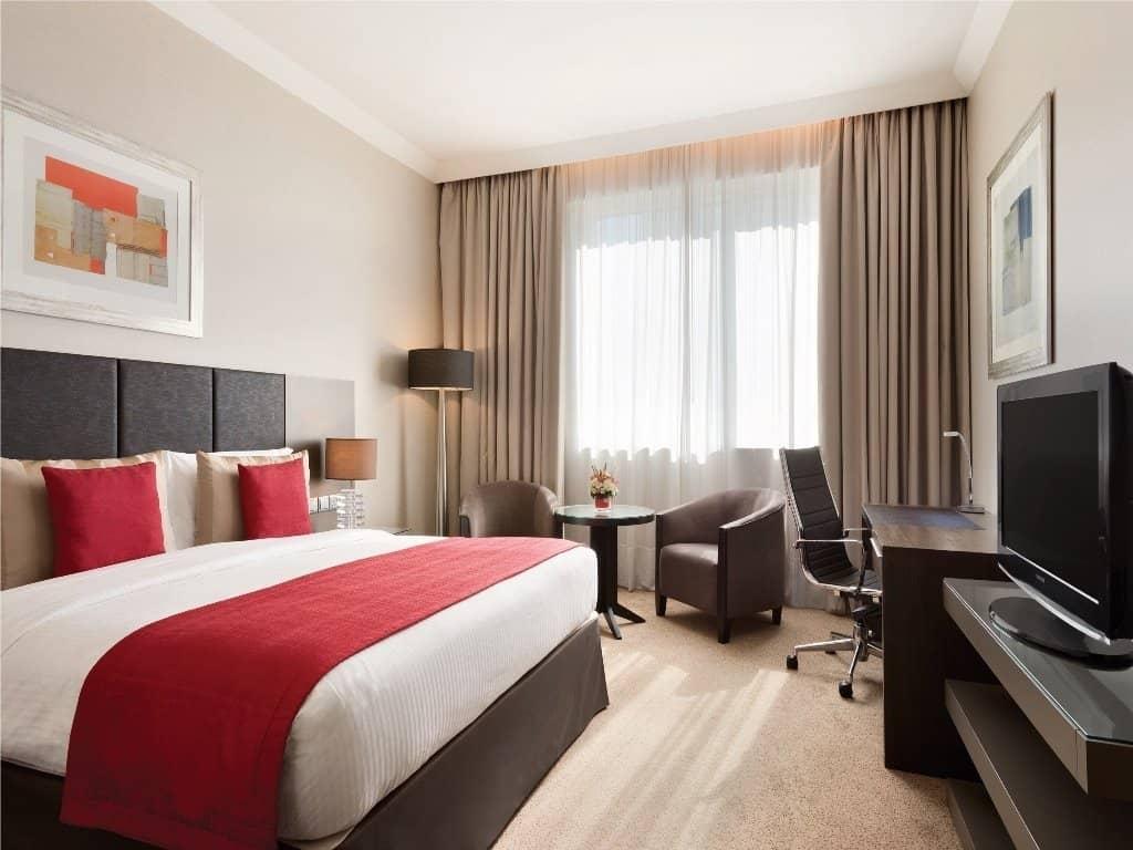 خيارات الإقامة في فندق رمادا داون تاون أبو ظبي