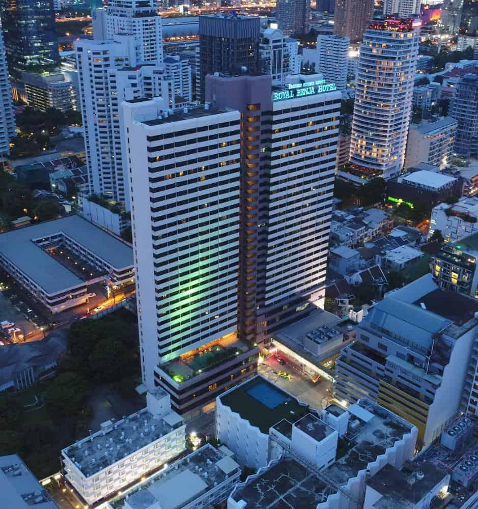 تقرير بالصور عن فندق رويال بنجا بانكوك