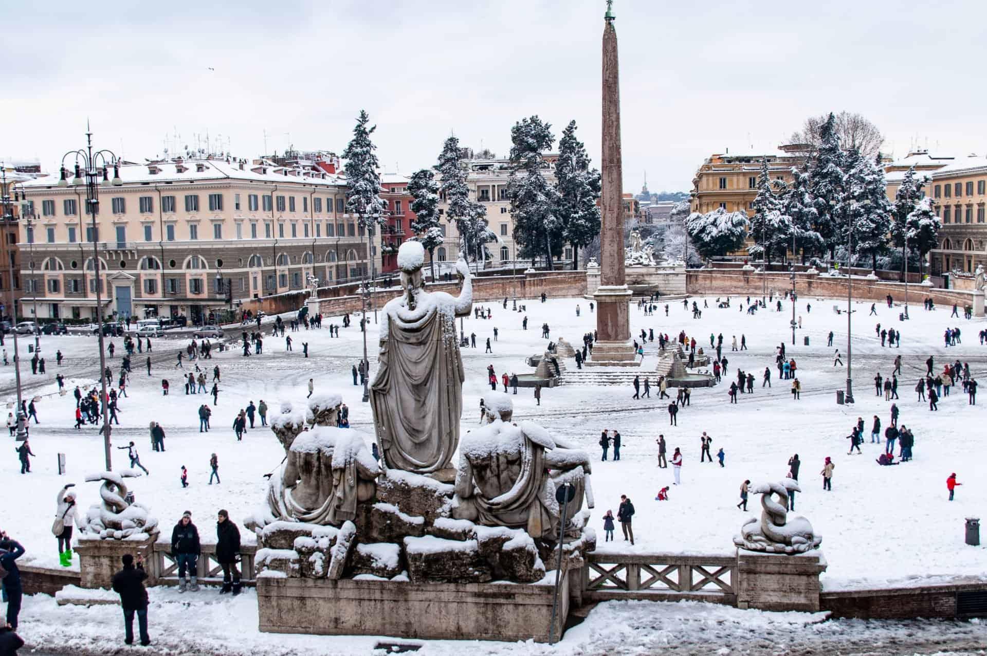ساحة Piazza del Popolo