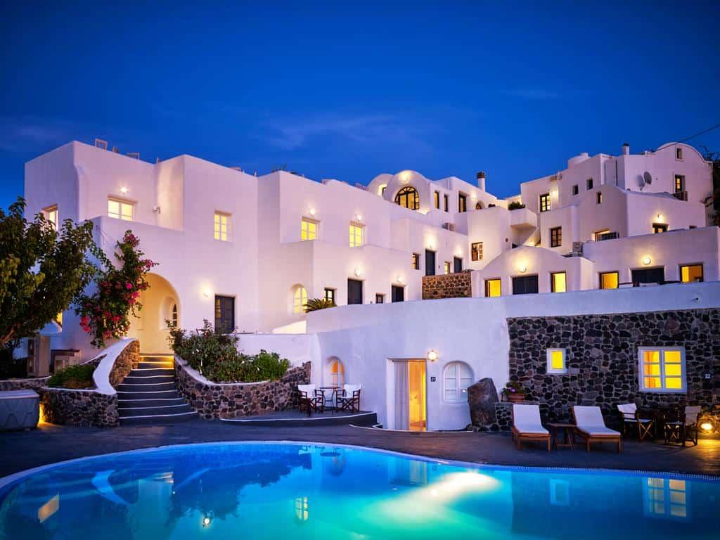 قائمة بأفضل الفنادق في اليونان 2019