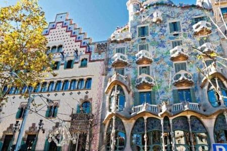 افضل 4 انشطة في مبنى كازا باتلو برشلونة اسبانيا