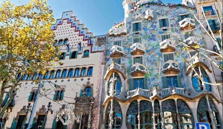 افضل 4 انشطة في مبنى كازا باتلو برشلونة إسبانيا
