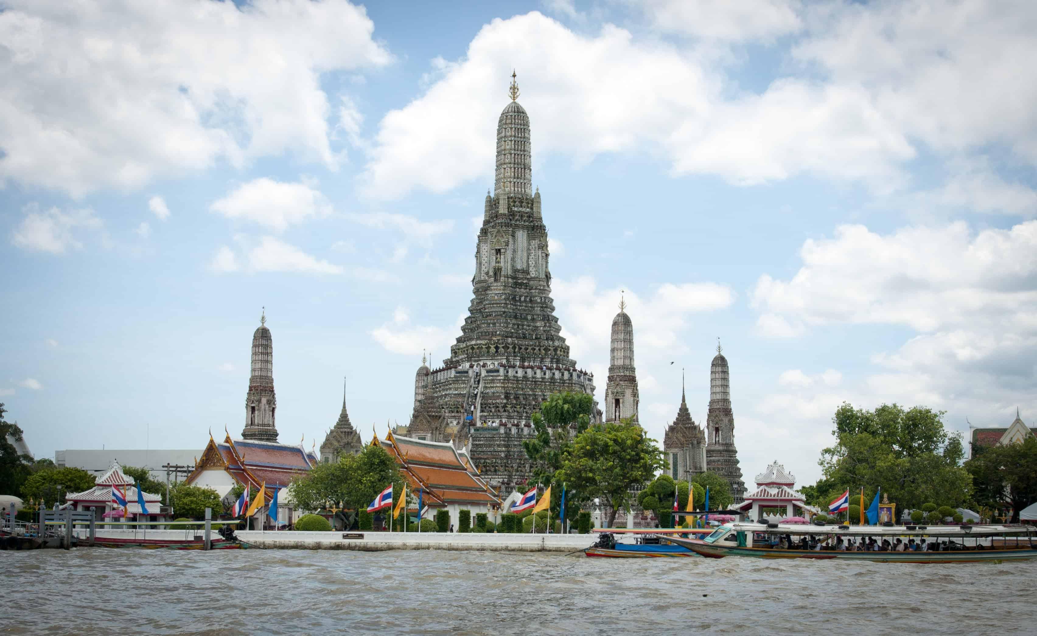 افضل 3 انشطة عند معبد وات ارون في بانكوك