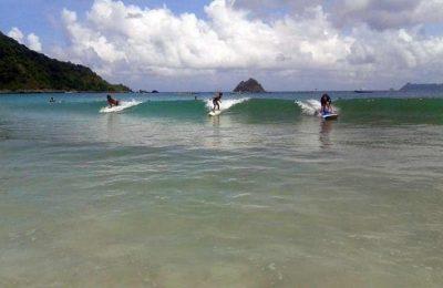 اهم 6 انشطة في شاطئ كوتا لومبوك اندونيسيا