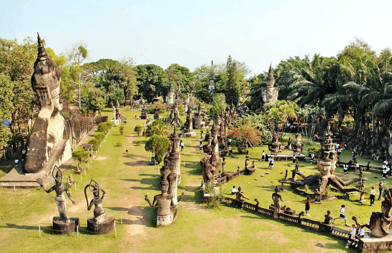 افضل نشاطين في حديقة بوذا السرية كوساموي تايلاند