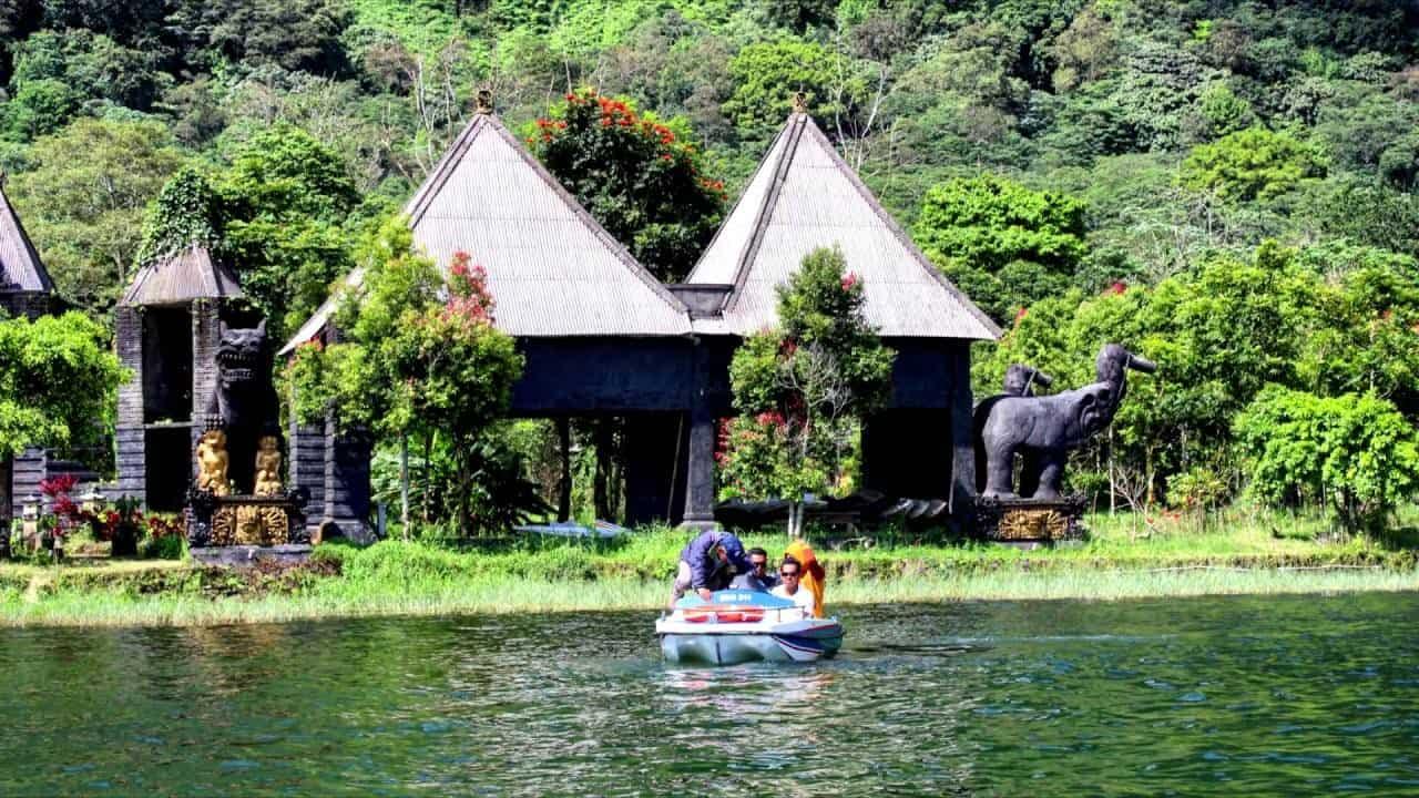 الطبيعة الساحرة في بالي