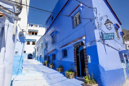 اين تقع شفشاون والمسافة بينها وبين اهم مدن المغرب