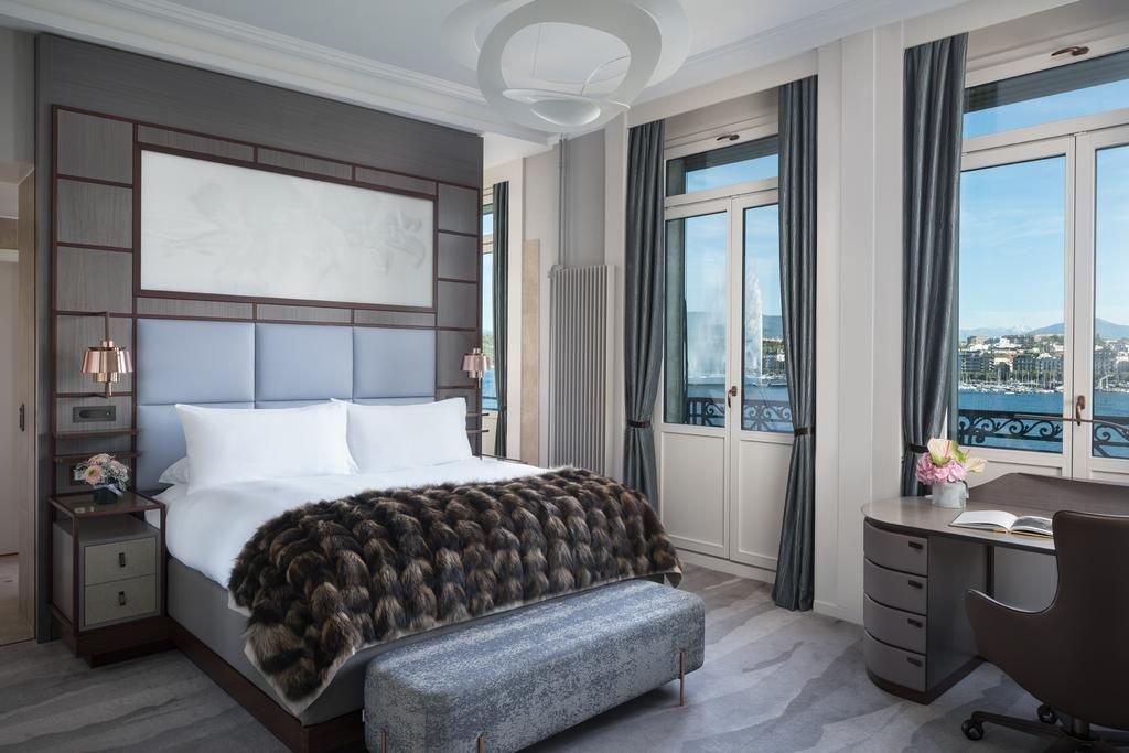 فندق دو لا بيه من اجمل فنادق جنيف