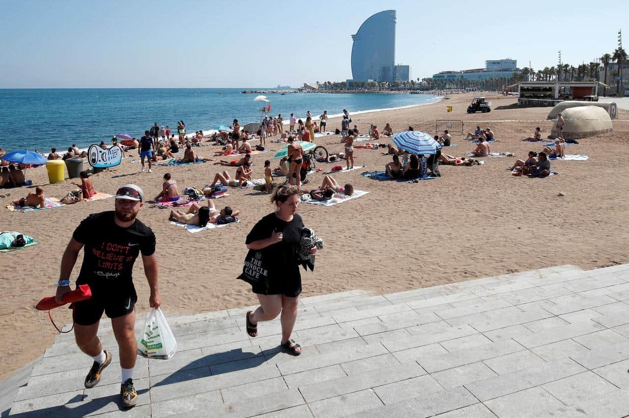 اشهر 4 من شواطئ برشلونة تستحق الزيارة