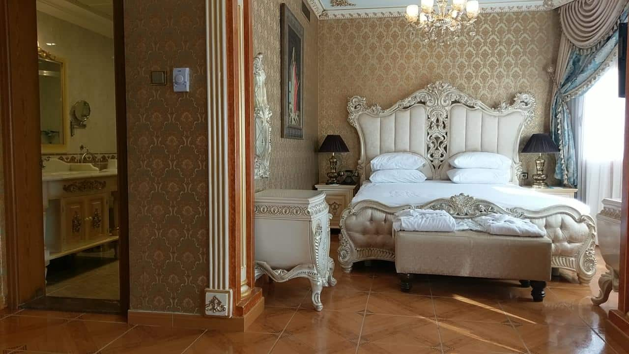 غرفة نوم فندق بلو هاوس اسطنبول