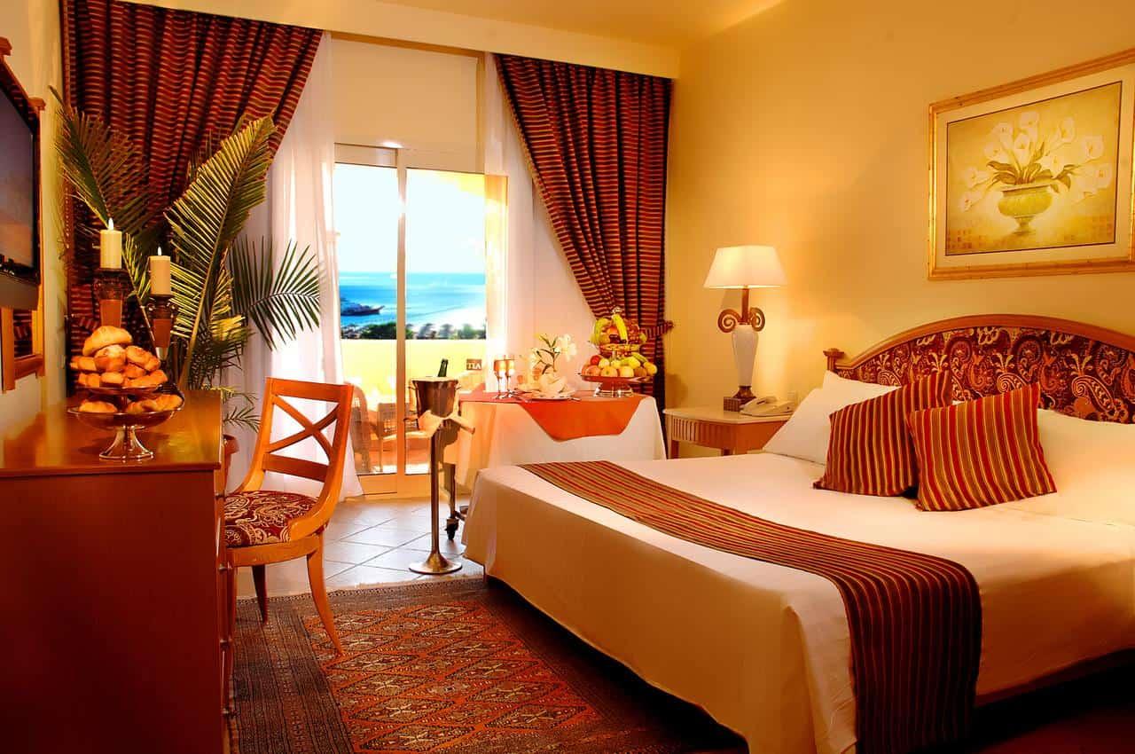 غرفة نوم فندق تيا هايتس مكادي الغردقة