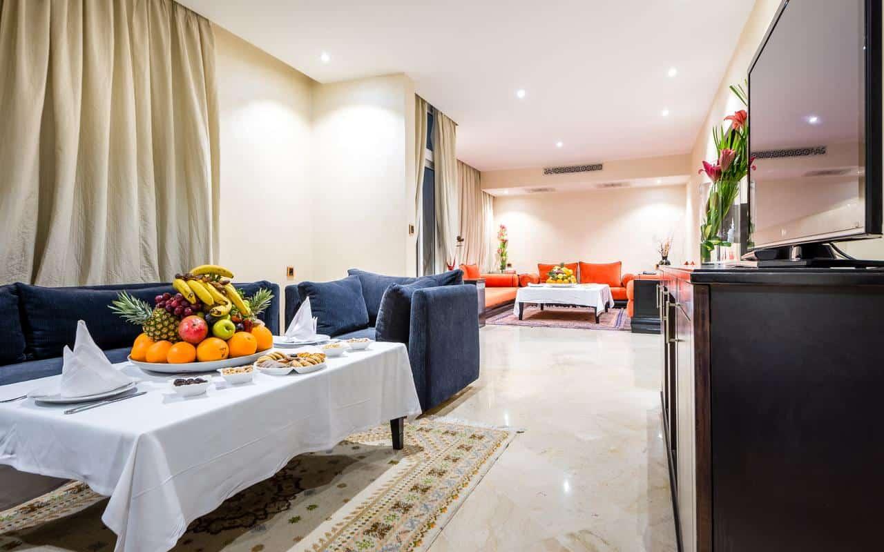 غرفة نوم فندق صحراء اغادير