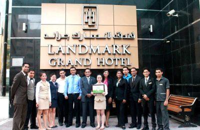 تقرير بالصور عن فندق لاندمارك جراند دبي