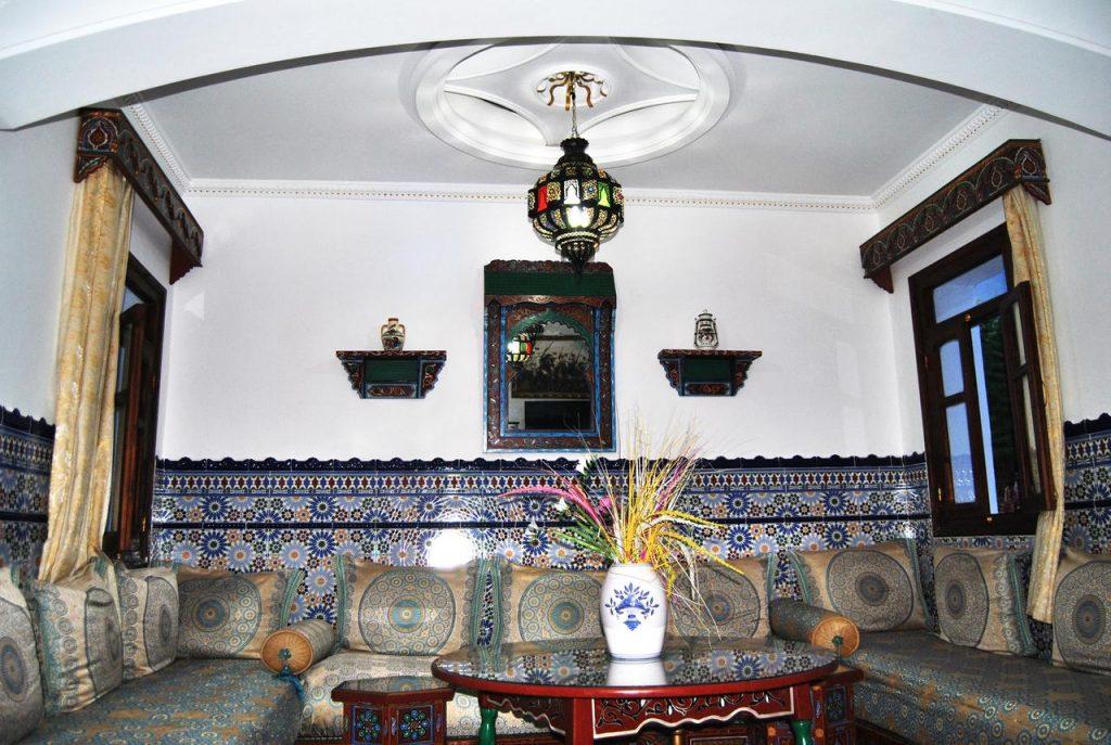 صورة مميزة لأحد فنادق شفشاون الرخيصة