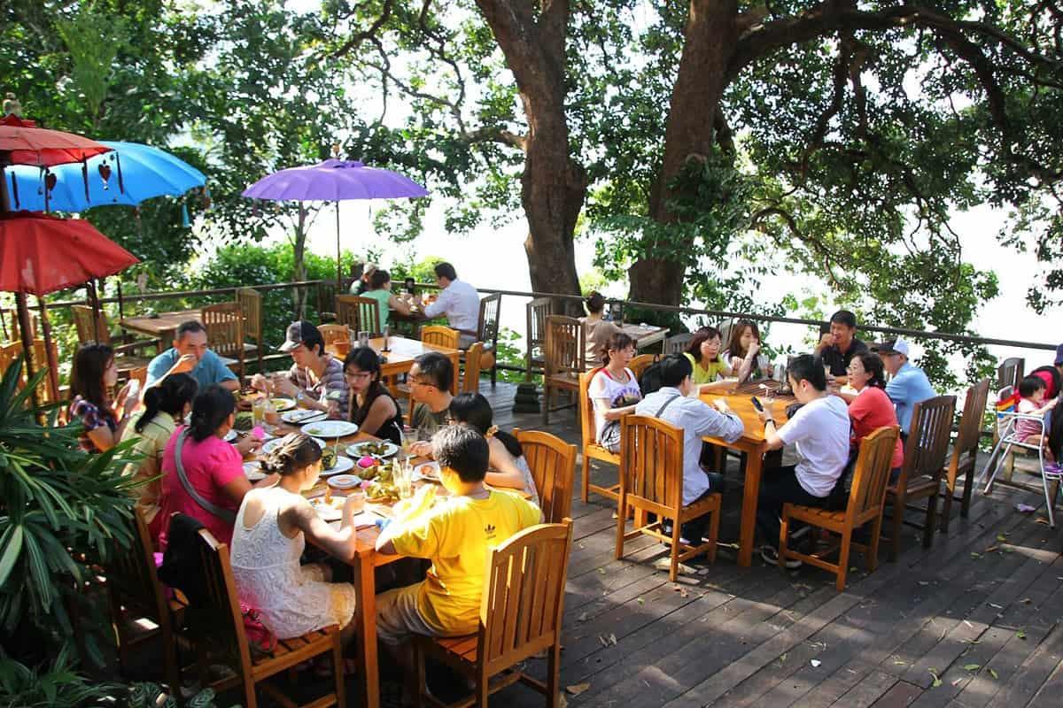 مطاعم حديقة التوابل في ماليزيا